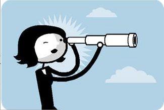 Longue vue symbolisant la vision de liloshopping.re